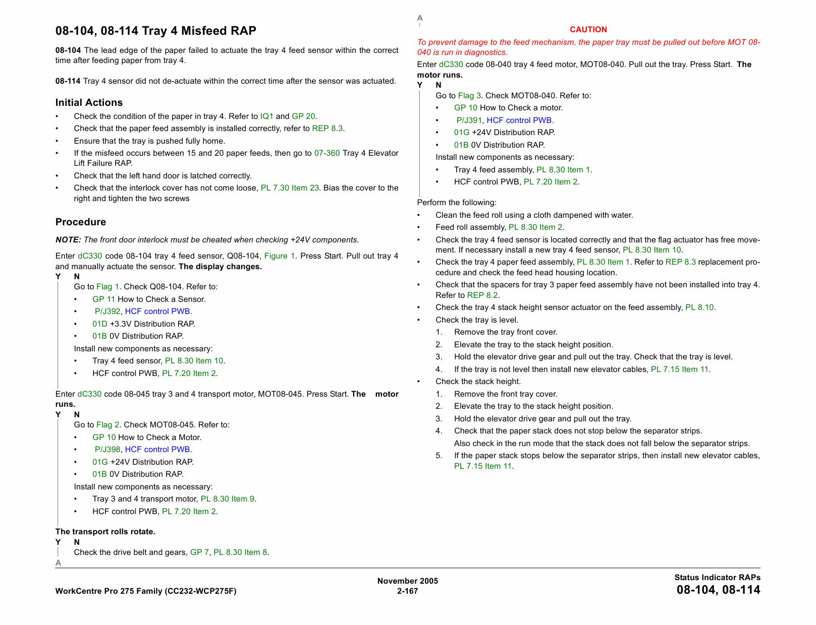 xerox copycentre c20 service manual